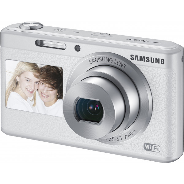 Samsung DV180F Smart-Digitalkamera (16,2 Megapixel, 5-fach opt. Zoom, 6,9 cm (2,7 Zoll) LCD-Display, bildstabilisiert, DualView, WiFi) weiß-36