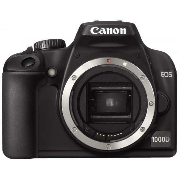 Canon EOS 1000D SLR-Digitalkamera (10 Megapixel, Live-View) Gehäuse-33