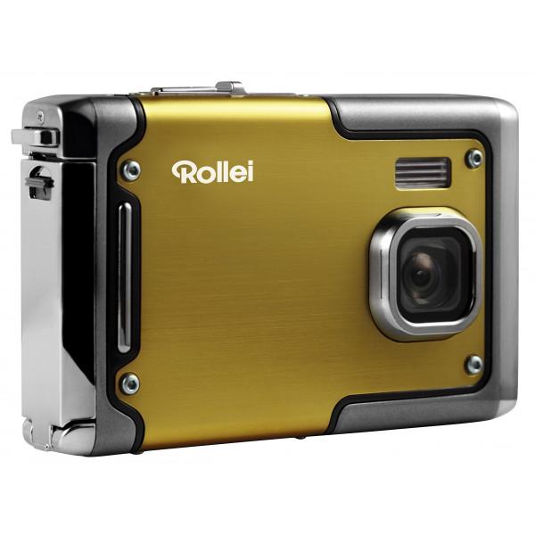 Rollei Sportsline 85 Digitalkamera 8 Megapixel 1080p Full HD Videofunktion wasserdicht bis zu 3 Metern Gelb-34