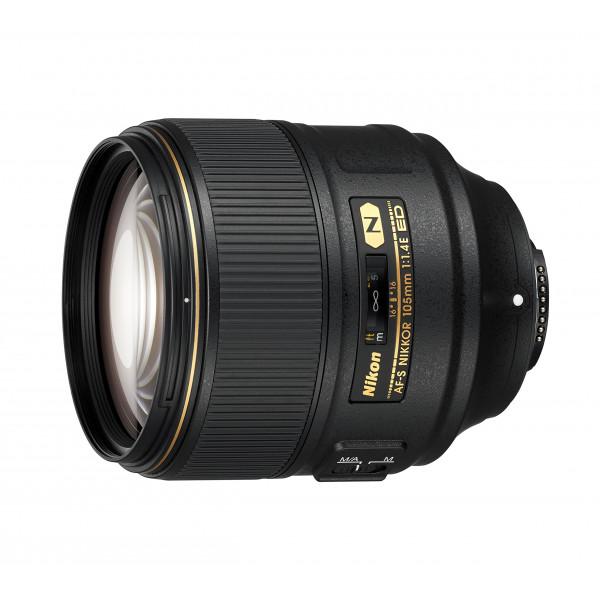 Nikon JAA343DA AF-S Nikkor 105 mm 1:1,4E ED Kamera-Objektive schwarz-34
