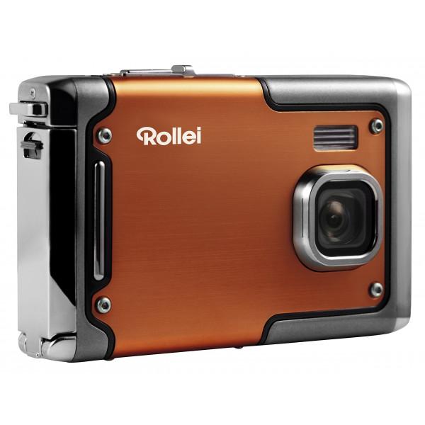 Rollei Sportsline 85 Digitalkamera 8 Megapixel 1080p Full HD Videofunktion wasserdicht bis zu 3 Metern Orange-34