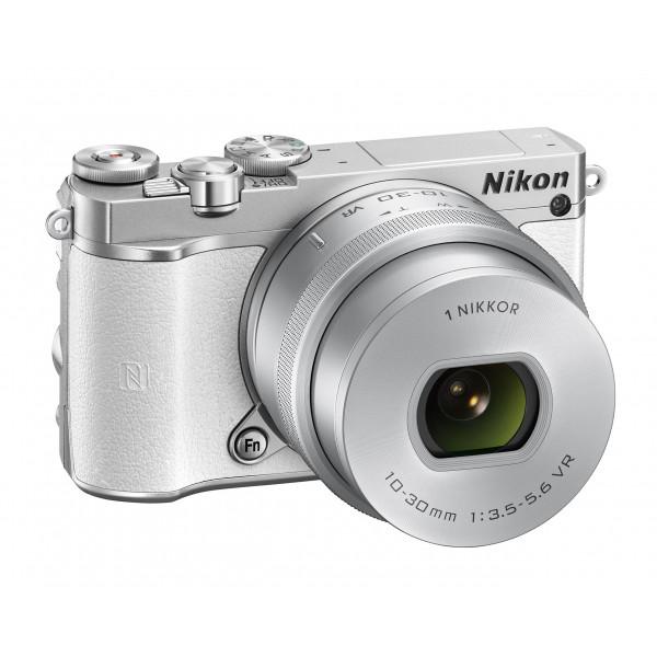 Nikon 1 J5 Systemkamera (20 Megapixel, 7,5 cm (3 Zoll) Display, 4K-Videoaufzeichnung, Funktionswählrad, Einstellrad, Funktionstaste, WiFi, NFC, USB, HDMI) Kit inkl. 10-30 mm PD-Zoom Objektiv weiß-36