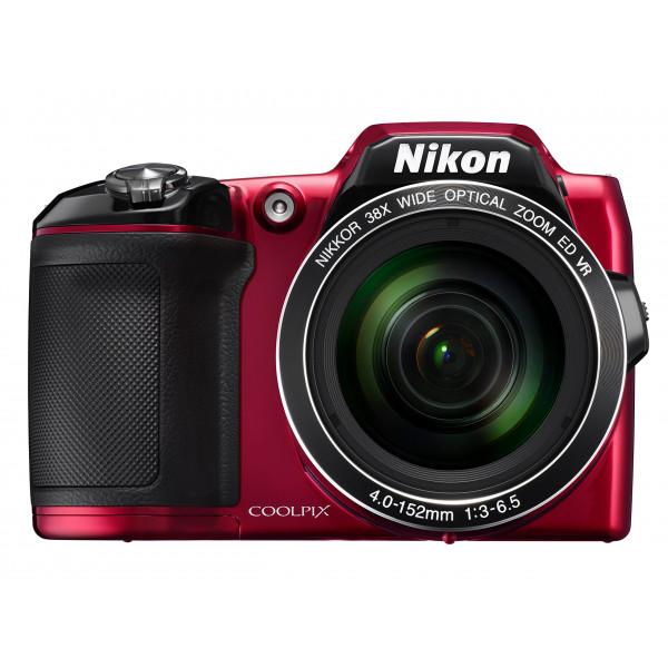 Nikon Coolpix L840 Digitalkamera (16 Megapixel, 38-fach opt. Zoom, 7,6 cm (3 Zoll) LCD-Display, USB 2.0, bildstabilisiert) rot-311