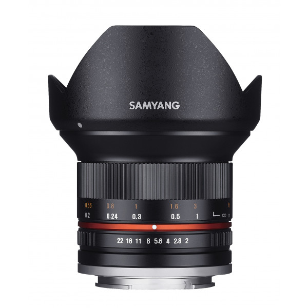 Samyang 12mm F2.0 Objektiv für Anschluss Micro Four Thirds schwarz-36