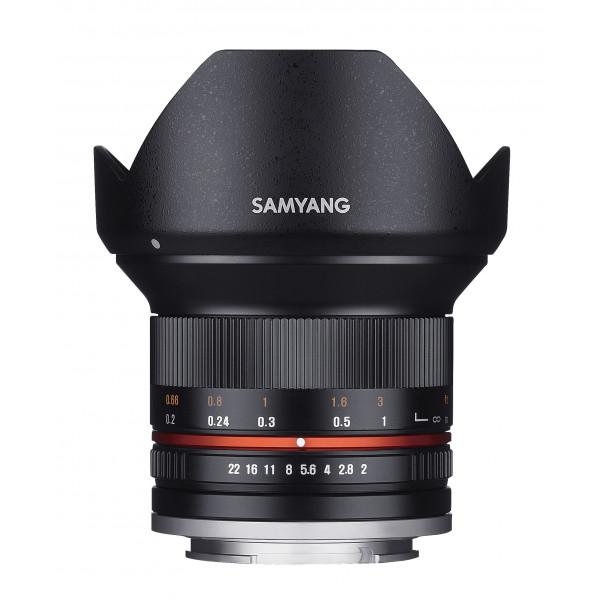 Samyang 12mm F2.0 Objektiv für Anschluss Sony E schwarz-36