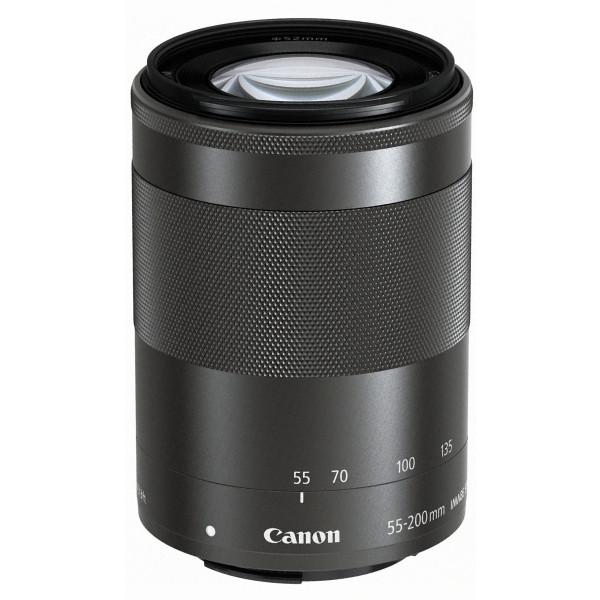 Canon EF-M 55-200 mm 1:4,5-6,3 IS STM Objektiv (52mm Filtergewinde) für EOS-M-35