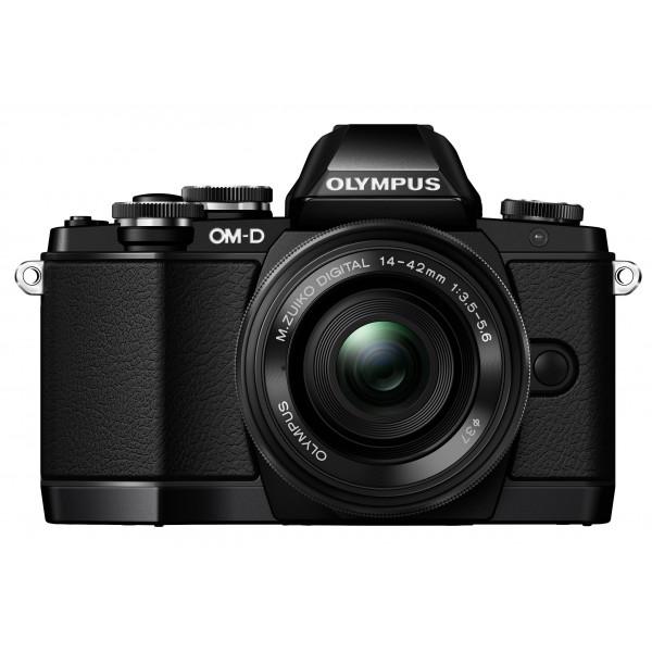 Olympus OM-D E-M10 Systemkamera (16 Megapixel, Live MOS Sensor, True Pic VII Prozessor, 3-Achsen VCM Bildstabilisator, Sucher, Full-HD, HDR) Kit inkl. 14-42mm Objektiv (elektr. Zoom) schwarz-39