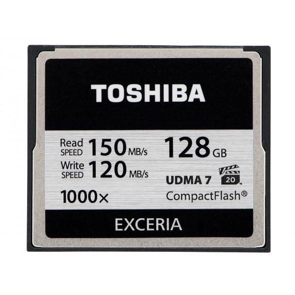 Toshiba Exceria CompactFlash 128GB (bis zu 150MB/s lesen) Speicherkarte schwarz-33