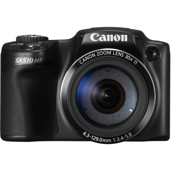 Canon PowerShot SX510 HS Digitalkamera (12,1 Megapixel, 30-fach opt. Zoom, 7,6 cm (3 Zoll) LCD-Display, bildstabilisiert) schwarz-313
