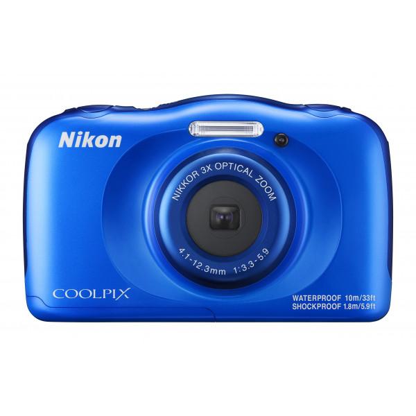 Nikon Coolpix W100 Kamera blau-34