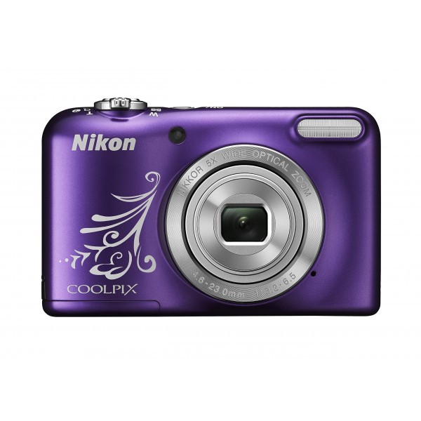 Nikon Coolpix L31 Digitalkamera (16 Megapixel, 5-fach opt. Zoom, 6,7 cm (2,6 Zoll) Display, HD-Video) violett lineart-36