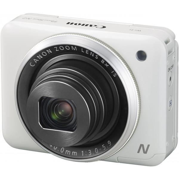 Canon PowerShot N2 Digitalkamera (16,1 Megapixel CMOS, HS-System, 8-fach optisch, Zoom, opt. Bildstabilisator, 7,1 cm (2,8 Zoll) Tilt-up Touch LCD, Selbstporträt, Full HD Movie, WLAN) weiß-310
