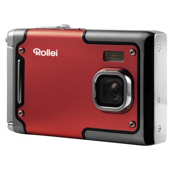 Rollei Sportsline 85 Digitalkamera 8 Megapixel 1080p Full HD Videofunktion wasserdicht bis zu 3 Metern Rot-34