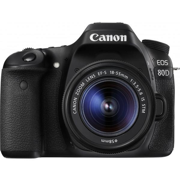 Canon EOS 80D SLR-Digitalkamera (24,2 Megapixel, 7,7 cm (3 Zoll) Display, DIGIC 6 Bildprozessor, NFC und WLAN, Full HD) Kit inkl. EF-S 18-55mm 1:3,5-5,6 IS STM, schwarz-38