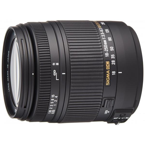 Sigma 18-250 mm F3,5-6,3 DC Macro OS HSM Objektiv (62 mm Filtergewinde) für Sony Objektivbajonett-33
