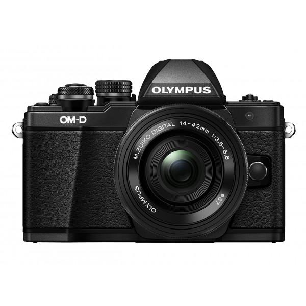 Olympus OM-D E-M10 Mark II Systemkamera (16 Megapixel, 5-Achsen VCM BildsTabilisator, elektronischer Sucher mit 2,36 Mio. OLED, Full-HD, WLAN, Metallgehäuse) Kit inkl. 14-42mm Objektiv schwarz-37