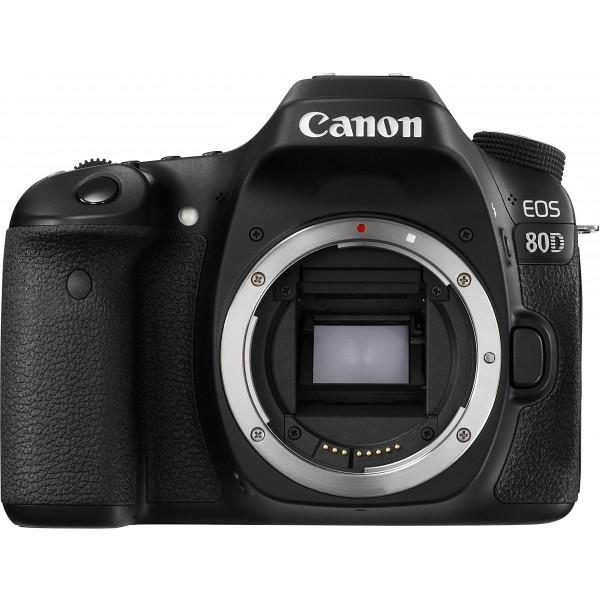 Canon EOS 80D SLR-Digitalkamera (24,2 Megapixel, 7,7 cm (3 Zoll) Display, APS-C CMOS Sensor, 45 AF-Kreuzsensoren, DIGIC 6 Bildprozessor, NFC und WLAN, Full HD) nur Gehäuse schwarz-34