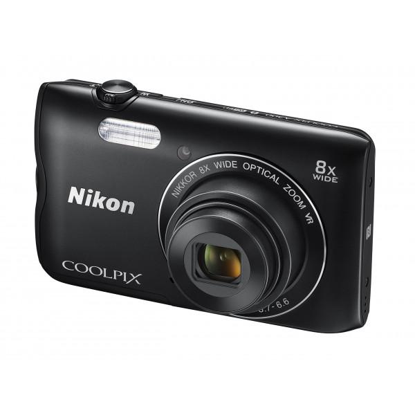 Nikon Coolpix A300 Kamera schwarz-34
