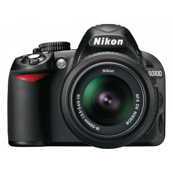 Nikon D3100 SLR-Digitalkamera (14 Megapixel, Live View, Full-HD-Videofunktion) Kit inkl. AF-S DX 18-55 mm VR Objektiv + 55-200 mm VR Objektiv-34