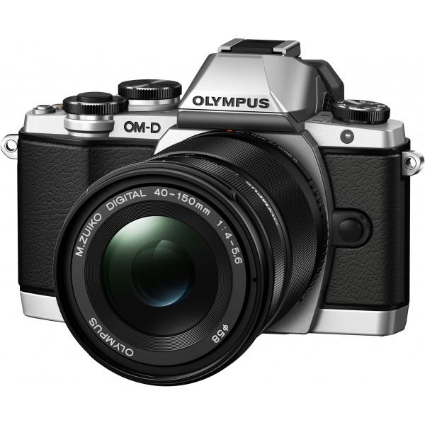 Olympus OM-D E-M10 Systemkamera (16 Megapixel, Live MOS Sensor, True Pic VII Prozessor, Fast-AF System, 3-Achsen VCM Bildstabilisator, Sucher, Full-HD, HDR) inkl. 14-150 mm II Objektiv silber-33