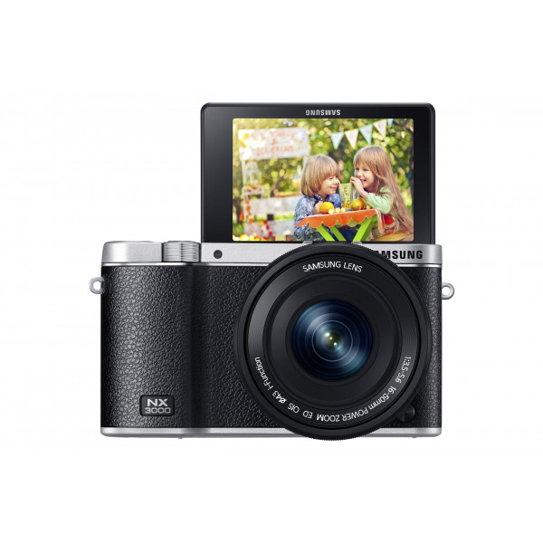 Samsung NX3000 Smart Systemkamera (20,3 Megapixel, 7,5 cm (3 Zoll) Display, Full HD Video, WIFi, NFC, Adobe Photoshop Lightroom 5, inkl. 16-50 mm OIS i-Function Power-Zoom-Objektiv) schwarz-310