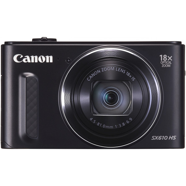 Canon PowerShot SX610 HS Digitalkamera (20,2 MP, 18-fach opt. Zoom, 36-fach ZoomPlus, 7,5cm (3 Zoll) Display, opt. Bildstabilisator, WLAN, NFC) schwarz-310