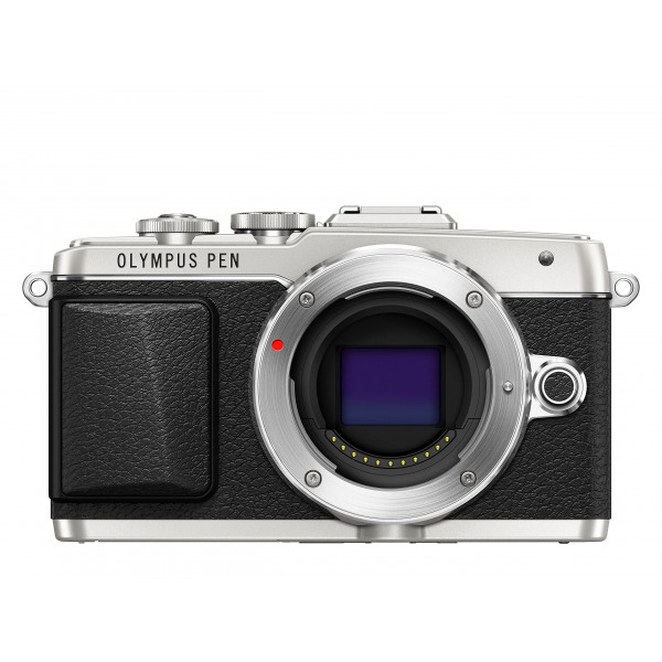 Olympus PEN E-PL7 Systemkamera Gehäuse (16 Megapixel, Full HD, 7,6 cm (3 Zoll) Display, Wifi) silber-39