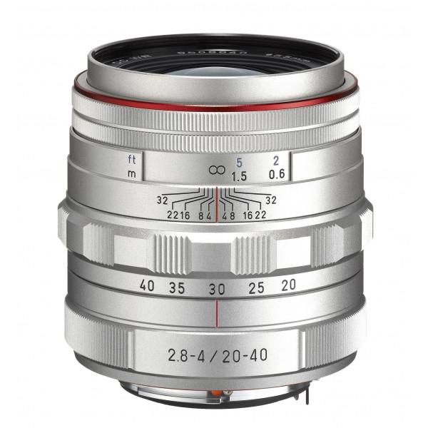 Pentax HD DA F2.8-4ED DC WR Limited K-Mount Objektiv (20-40 mm) silber-32