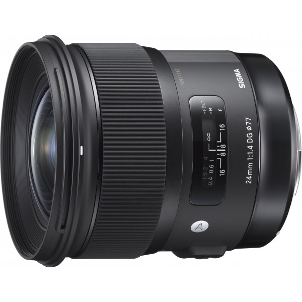 Sigma 24 mm F1,4 DG HSM Objektiv (77 mm Filtergewinde) für Nikon Objektivbajonett-37