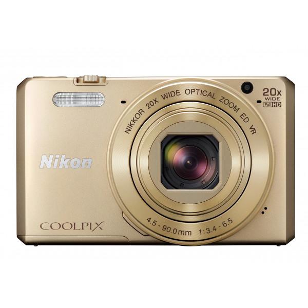 Nikon Coolpix S7000 Digitalkamera (16 Megapixel, 20-fach opt. Zoom, 7,6 cm (3 Zoll) LCD-Display, USB 2.0, bildstabilisiert) gold-39