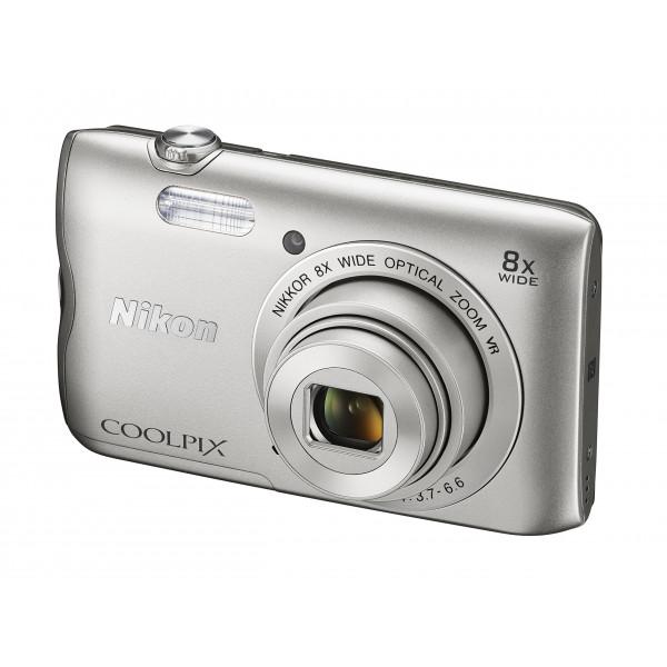 Nikon Coolpix A300 Kamera silber-34
