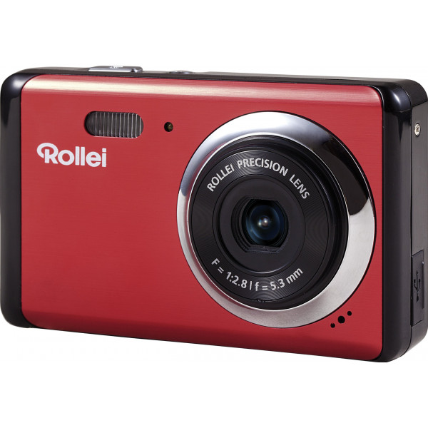 Rollei Compactline 83 Digitalkamera (8 Megapixel CMOS Sensor, 8-fach dig. Zoom, 6,9 cm (2,7 Zoll) LCD-Display, Panorama-Funktion, Multi-Schnappschuss-Funktion) rot-34