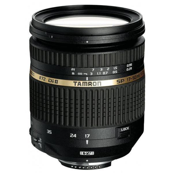 Tamron SP AF 17-50mm 2,8 Di II VC Objektiv (bildstabilisiert) für Canon-32
