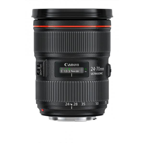 Canon EF 24-70mm f/2.8L II USM Standard-Zoom Objektiv (82mm Filtergewinde) schwarz-33