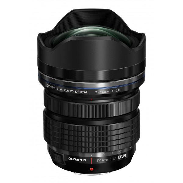 Olympus M.Zuiko Digital ED 7-14 mm 1:2.8 Pro Objektiv für Micro Four Thirds Objektivbajonett schwarz-35