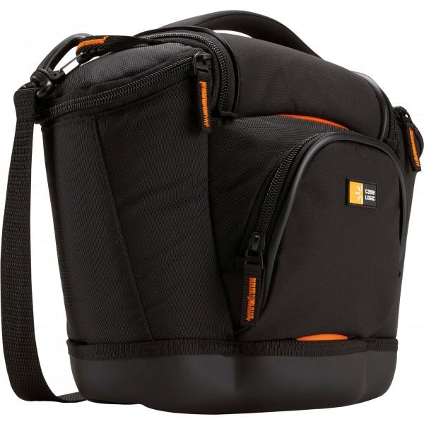 Case Logic SLRC202 SLR Camera Bag M Kameratasche inkl. Hammock System and Hartschalenboden (für Spiegelreflex) schwarz/orange-39