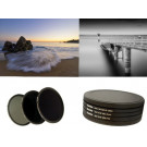 HAIDA PRO II Digital MC Neutral Graufilter Set bestehend aus ND8, ND64, ND1000 Filtern 82mm inkl. Stack Cap Filtercontainer und Cap-20
