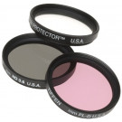 Tiffen Filter 46MM DELUXE 3 FILTER KIT-20