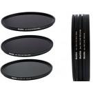 Slim PRO II Digital MC Neutral Graufilter Set bestehend aus ND8, ND64, ND1000 Filtern 72mm inkl. Stack Cap Filtercontainer + Pro Lens Cap mit Innengriff-20