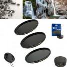 Neutral Graufilter Set bestehend aus ND4, ND8, ND64 Filtern 58mm inkl. Stack Cap Filtercontainer + Pro Lens Cap mit Innengriff-20