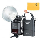 Godox Witstro AD360II-C TTL 360W GN80 Powerful Speedlite Flash Light + 4500mAh PB960 Lithium Battery for Canon EOS Camera (Black)-20