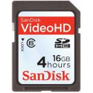 Sandisk SecureDigital High Capacity (SDHC) Card Video HD Speicherkarte 16GB-20