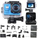 Action Cam WiFi Full HD Unterwasserkamera Digital Wasserdicht 2.0 Zoll LCD Helmkamera Mit 2 Stü. Batteries, Action Kamera für Motorrad, Fahrrad, helm, kinder, drohne, fahrrad, hunde etc-20