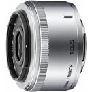 Nikon 1 Nikkor 18,5mm 1:1,8 Objektiv silber-20