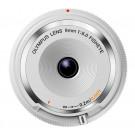 Olympus Body Cap Objektiv 9mm 1:8.0 fisheye weiß-20