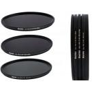 HAIDA Slim PRO II Digital MC Neutral Graufilter Set bestehend aus ND8, ND64, ND1000 Filtern 82mm inkl. Stack Cap Filtercontainer + Pro Lens Cap mit Innengriff-20