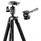 Mantona Scout Panorama Set mit Scout Dreibeinstativ inkl. Kugelkopf mit Schnellwechselplatte und Videoneiger Pan 360 für flüssige Videoaufnahmen-20