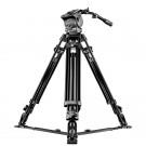 Mantona Dolomit 4000 Videostativ 170 cm (inkl. Fluid-Neiger, Counter Balance System, Wasserwaage, Bodenspinne, Schnellwechselplatte) für DSLR und Videokamera-20