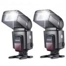 Neewer®TT560 Zwei Blitzgerät Blitz Speedlite Set für Canon Nikon Sony Olympus Panasonic Pentax Fujifilm Sigma Minolta Leica und andere SLR Digital SLR Spiegelreflex-Kameras und Digitalkameras mit Single-Kontakt Blitzschuh-20