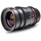 Walimex Pro 35mm 1:1,5 VDSLR Foto und Videoobjektiv (Filtergewinde 77mm) für Olympus Four Thirds Objektivbajonett schwarz-20